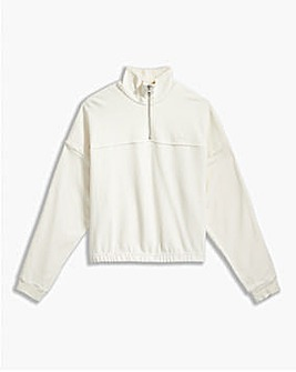 Levi's Pom Quarter Zip Jumper