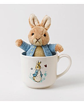 Beatrix Potter Mug and Soft Toy Gift Set
