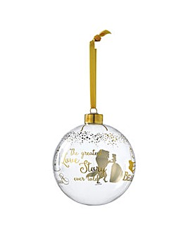 Enchanting Disney Belle Wedding Bauble