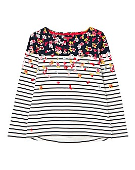 Joules Blossom Border Jersey Top