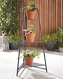 3 Tier Corner Plant Shelves