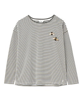 Joules Stripe Jersey Top