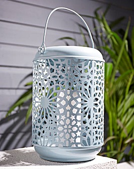 Metal Cut Out Lantern