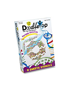 DoodleTop Sweets Stencil Kit