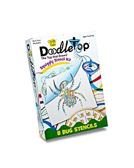 DoodleTop Bugs Stencil Kit