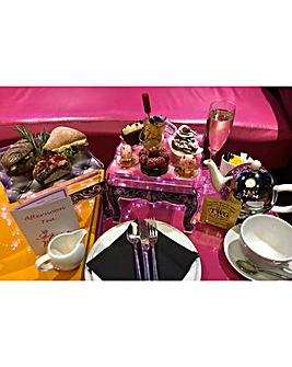 Vegan Champagne Tea for Two at Cake Boy