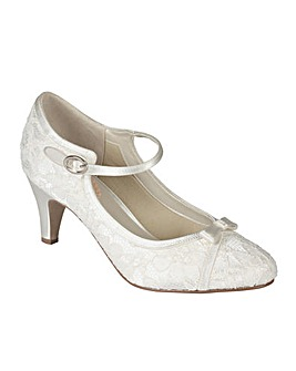 Paradox London Cupcake Lace Court Shoes