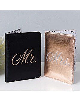 Mr and Mrs Passport Holders