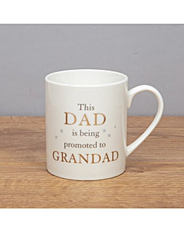 Dad Promoted to Grandad Mug