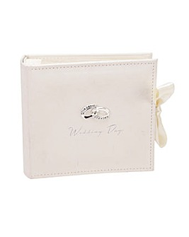 Wedding Day Photo Album with Rings Icon