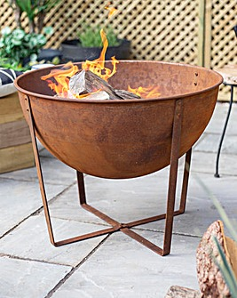 La Hacienda Tamba Medium Steel Firepit