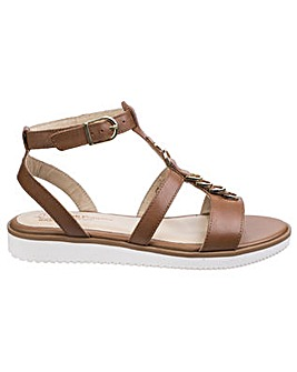 Hush Puppies Briard Ring T Strap Sandal
