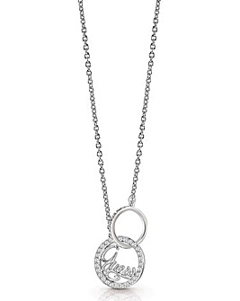 Guess Authentics Linked Logo Necklace
