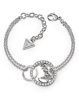 Guess Authentics Linked Logo Bracelet