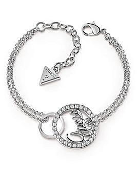 Guess Authentics Linked Logo Bracelet