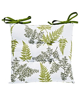 Fern Leaves Cushion Seat Pad