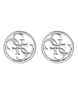 Guess Linked Logo Earrings