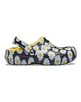 Crocs Classic Floral Daisy Clogs D Fit