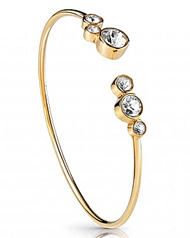 Guess Crystal Row Open Bangle