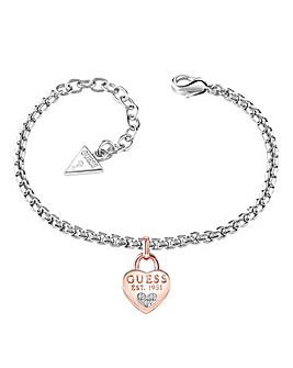 Guess All About Shine Heart Bracelet
