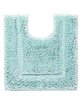 Silky Supersoft Whispering Blue Pedestal Mat