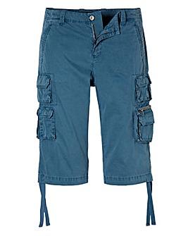 Ditsy Print Midi Skirt with Side Splits
