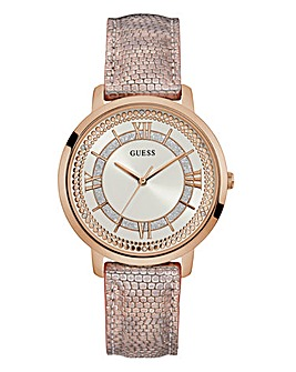 Guess Ladies Montauk Pink Watch