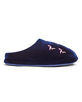Heavenly Soles Flamingo Slippers E Fit
