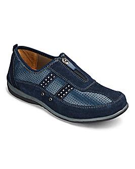 Cushion Walk Zip Shoes E Fit