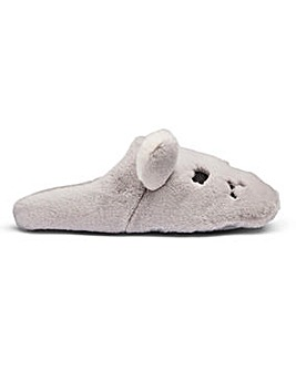 Heavenly Soles Mouse Slippers E Fit
