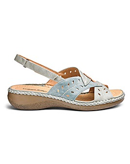 Cushion Walk Comfort Sandals EEE Fit