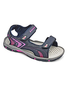 Dunlop Touch and Close Sandals Wide E Fit