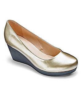 Cushion Walk Wedge Shoes Extra Wide EEE Fit