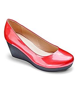 Cushion Walk Wedge Shoes EEE Fit