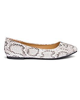Ballerina Shoes D Fit