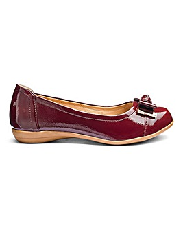 Heavenly Soles Slip On Shoes E Fit