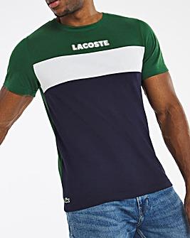 Lacoste Panel Logo T-Shirt