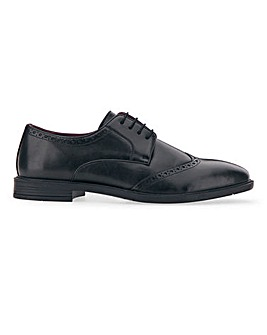PU Formal Classic Brogue Standard Fit