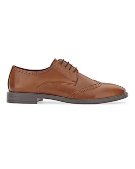 PU Formal Classic Brogue Extra Wide Fit