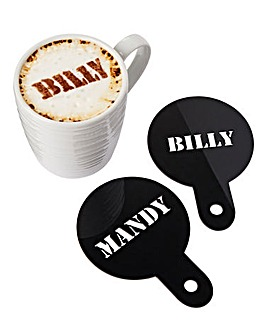 Personalised Coffee Stencil