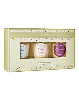 British Garden Votive Gift Set