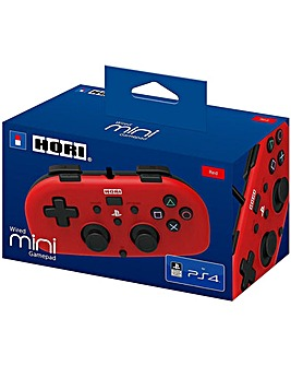 Wired Mini Gamepad for Kids Red PS4