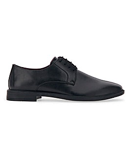 PU Formal Derby Shoe Extra Wide Fit