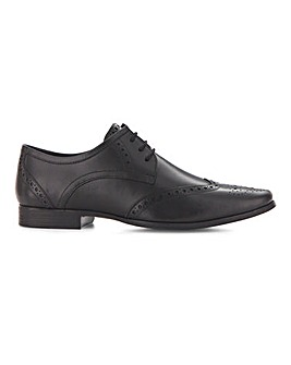 Leather Formal Brogue EW Fit