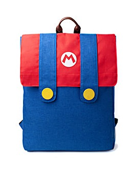 Nintendo Super Mario Denim Backpack