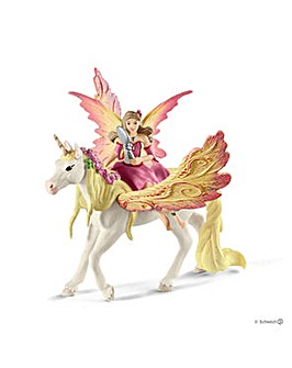 Schleich Fairy Feya with Pegasus Unicorn