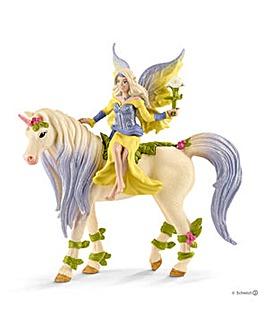Schleich Fairy Sera inc Blossom Unicorn