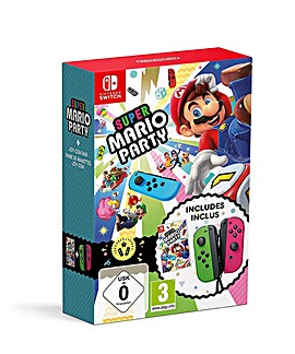 Super Mario Party and Joy Con Bundle