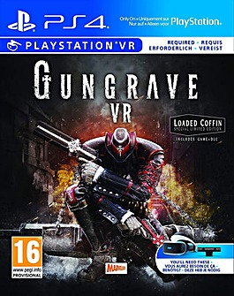 Gungrave VR Loaded Coffin VR Game PS4