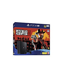 PS4 PRO 1TB Inc Red Dead Redemption 2